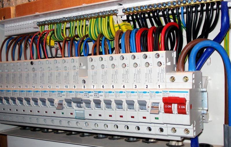 Izvedba električnih inštalacij